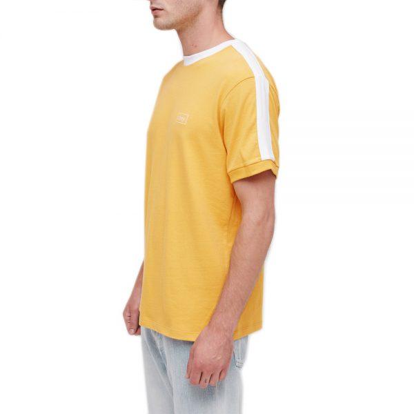 Obey-Borstal-Box-Tee-Yellow