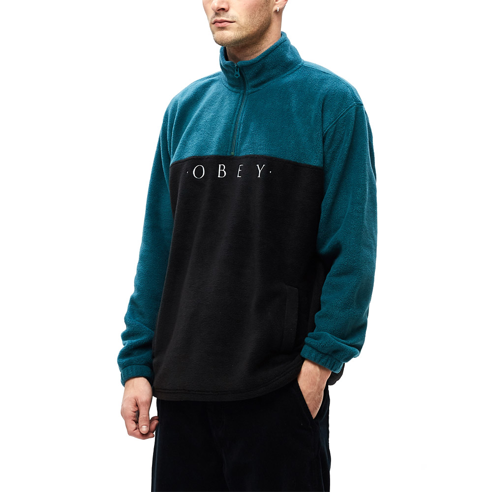 Obey-Channel-Mock-Neck-Black-Multi