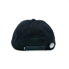Obey-Cutty-6-Panel-Snapback-Black