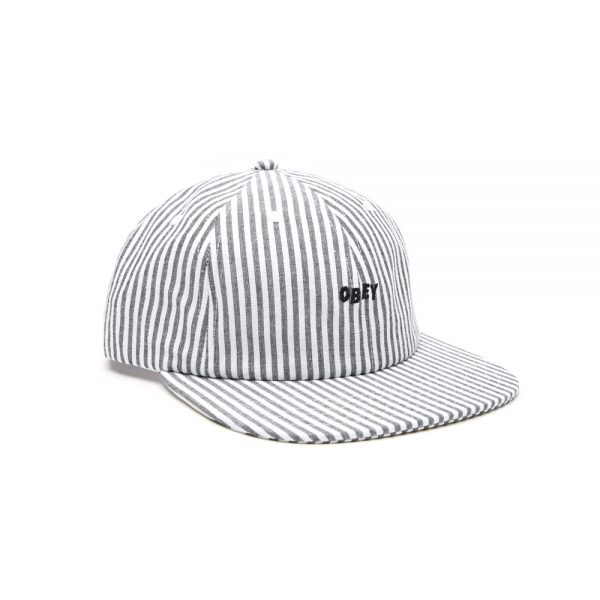 Obey-Cypress-6-Panel-Hat-Black