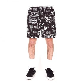 Obey-Easy-Flash-Short-Black