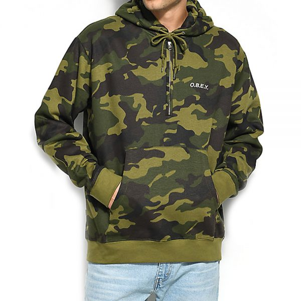 Obey-Ennet-anorak-pullover-Camo