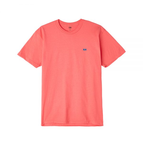 Obey-Flashback-Tee-Coral1