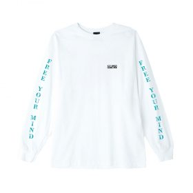 Obey-Free-Your-Mint-LS-Tee-White