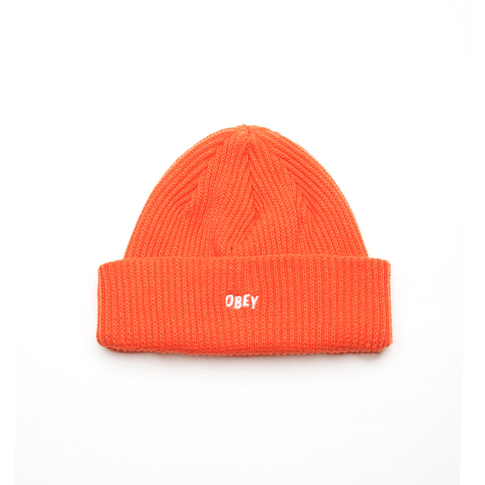 Obey-Hangman-Beanie-Orange