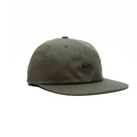 Obey-JUMBLED-6-PANEL-STRAPBACK-Army