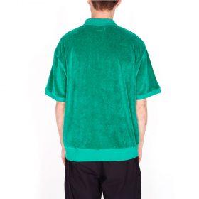 Obey-Joe-Zip-Classic-Polo-SS-Growth-Green