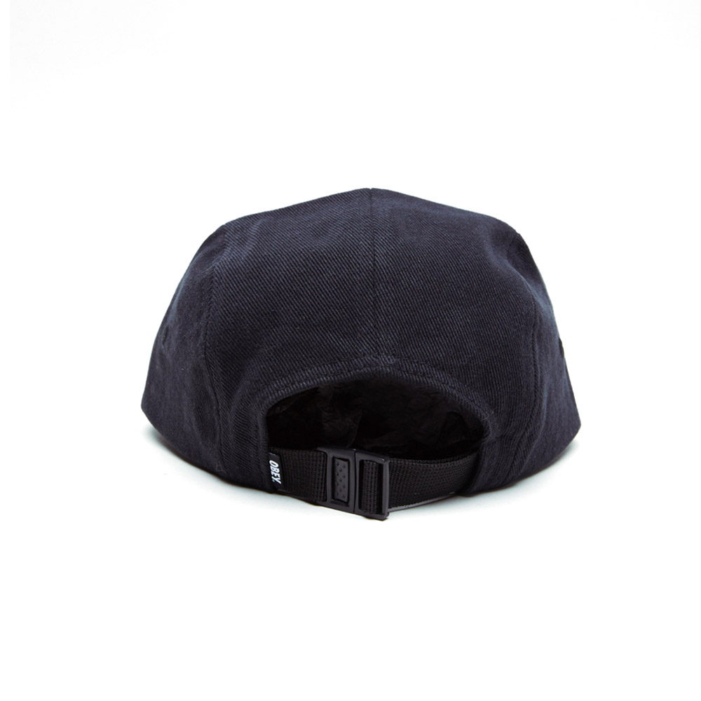 Obey-Jumble-Bar-II-5-Panel-Hat-Black