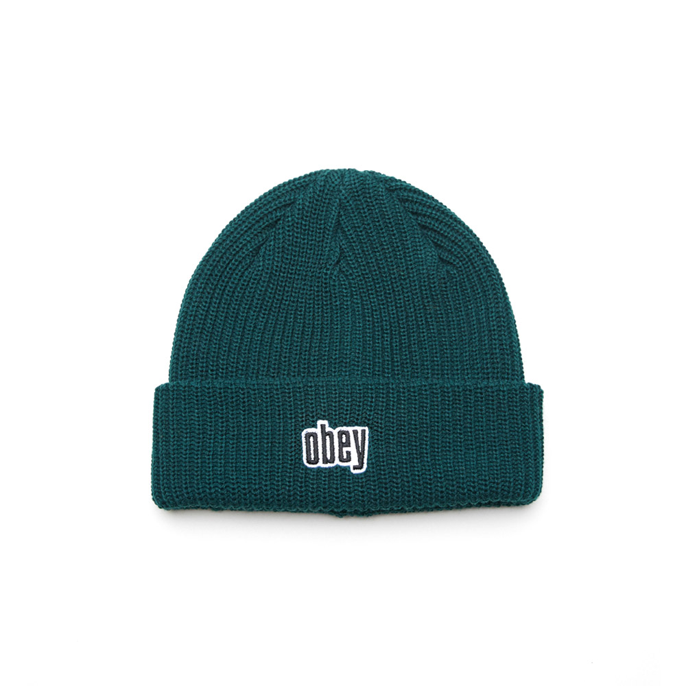 Obey-Jungle-Beanie-Dark-Teal