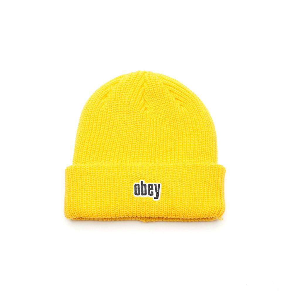 Obey-Jungle-Beanie-Dusty-Yellow