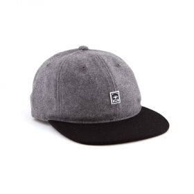 obey nineteen eighty nine 6 panel grey