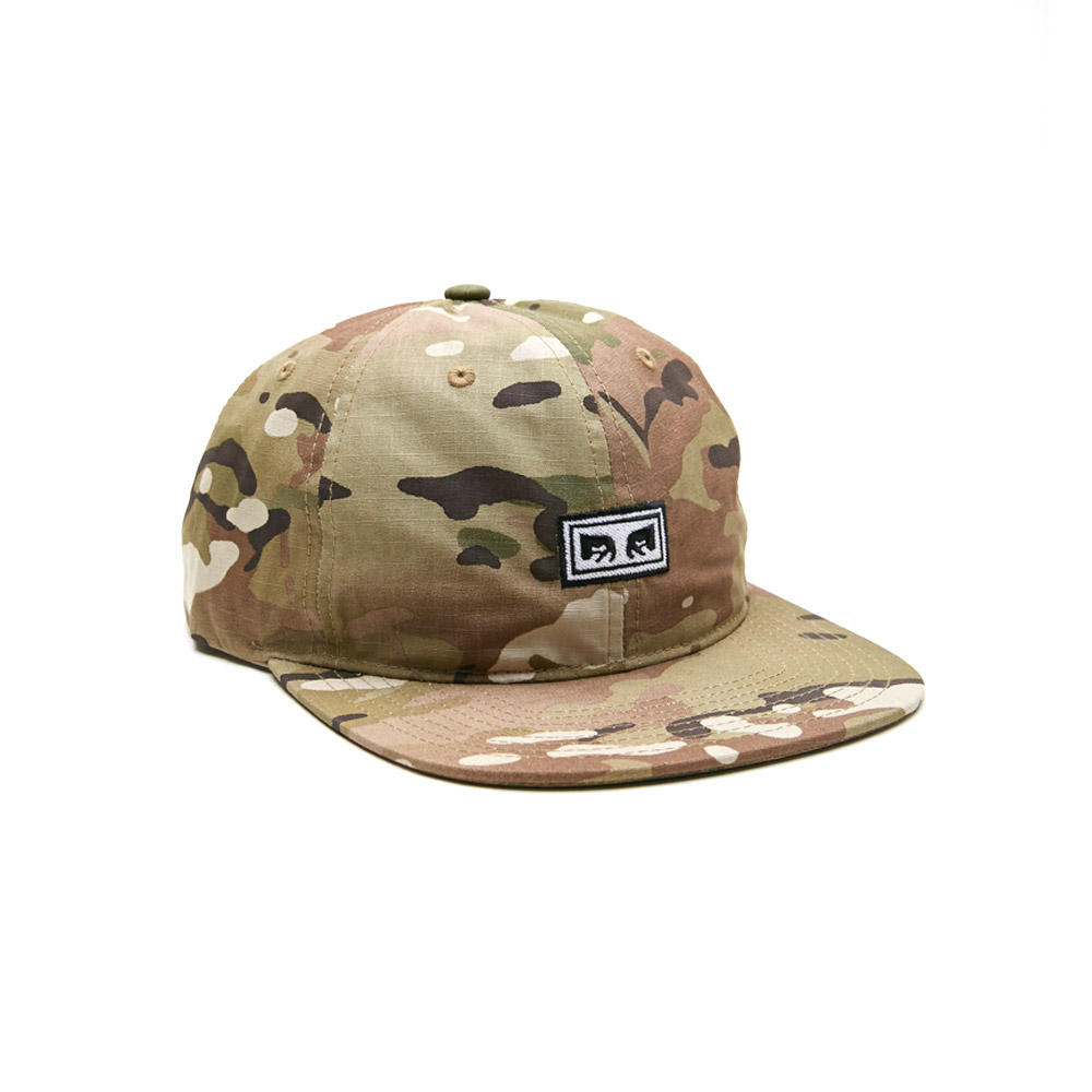Obey-Overthrow-6-Panel-Snapback-Desert-Camo