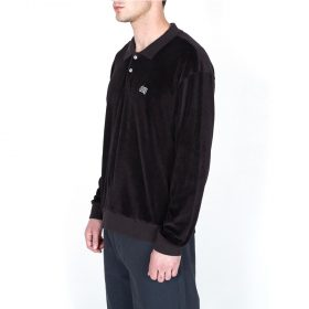 Obey-Saucer-Polo-Black