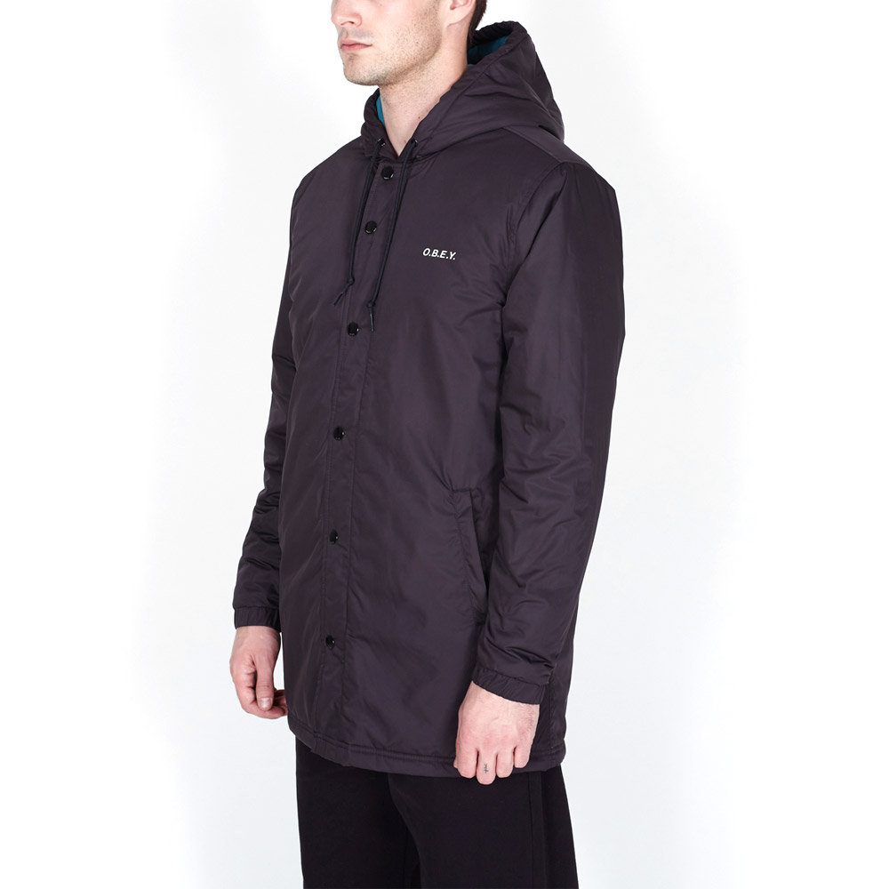 Obey-Singford-Parka-Black