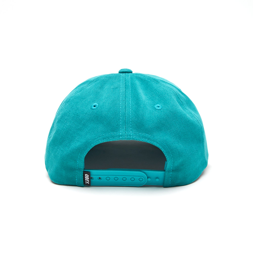 a3fd3dff926e8 Obey Subversion 6 Panel Snapback Teal