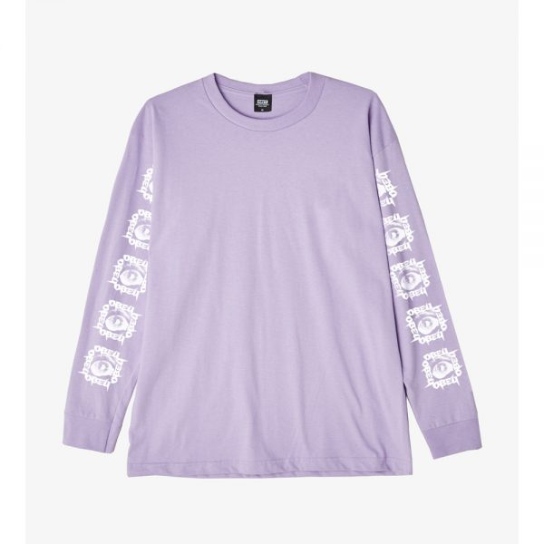 Obey-Tunnel-vision-Ls-Tee-Lavender1