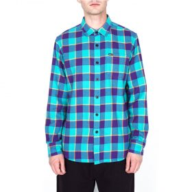 Obey-Ventura-Woven-Teal-Multi