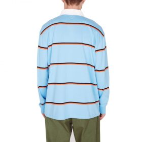 Obey-Washer-Classic-Polo-LS-Light-Blue-Multi
