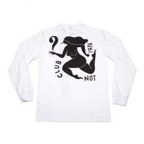 parra club not ls t-shirt white