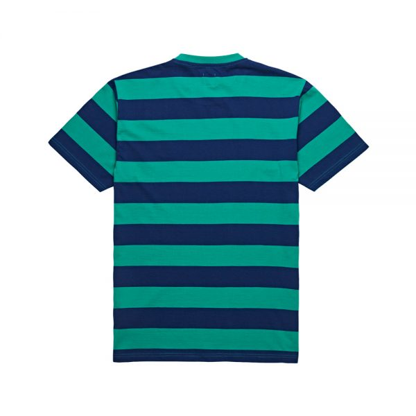 Polar-91-Stripe-Tee-Green-Navy
