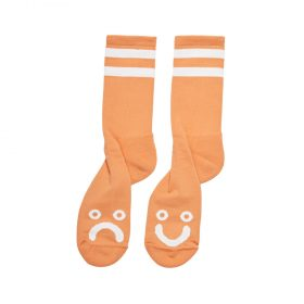 Polar-HAPPY-SAD-SOCKS-LIGHT-ORANGE-1