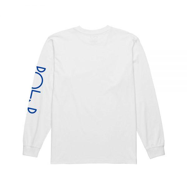 Polar-Script-Logo-Longsleeve-Tee-White1