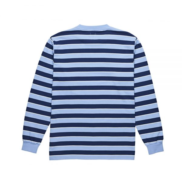 Polar-Striped-Longsleeve-Tee-Powder-Blue-Navy