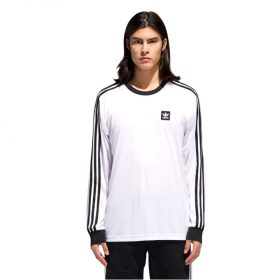 Adidas LS Club Jersey White Black