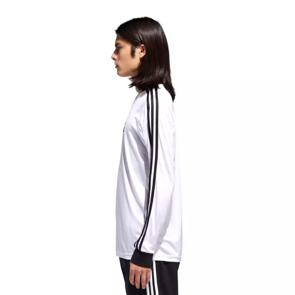 Adidas LS Club Jersey White Black