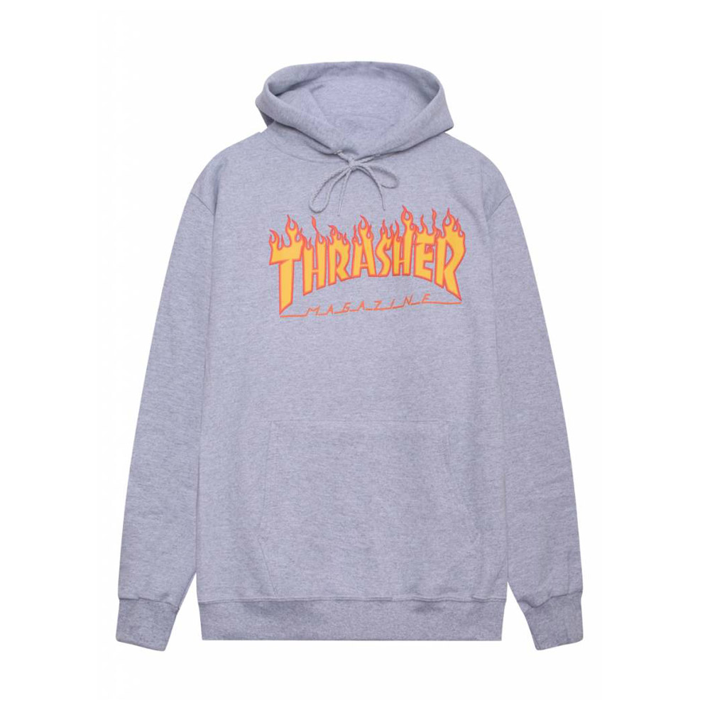 Thrasher-Flame-Hood-Grey