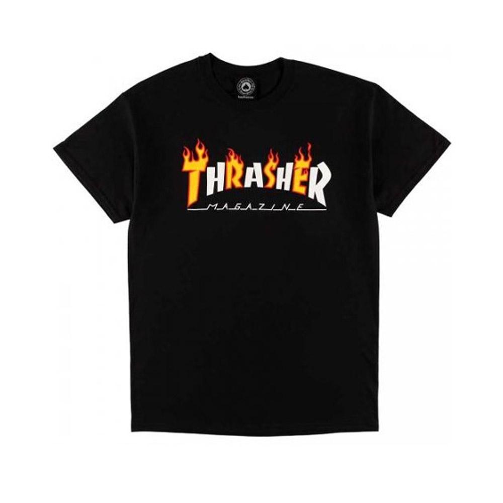 Thrasher-Flame-Mag-tee-Black