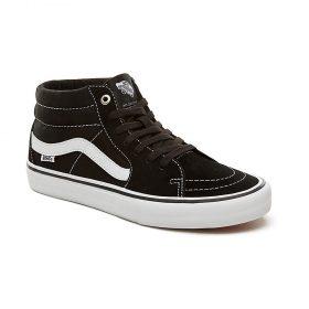 VAns-Sk8-Mid-Black-white
