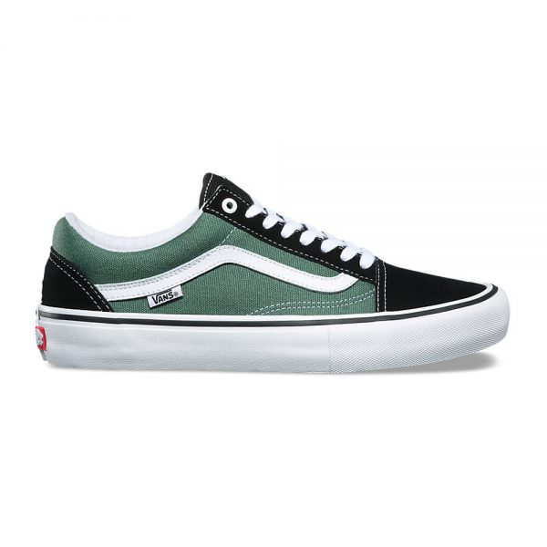 Vans-Old-Skool-Pro-Black-Duck-Green-