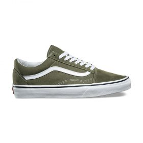 Vans-Old-skool-Winter-Moss-Green-White