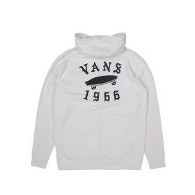 Vans Stitched Zip Hood White