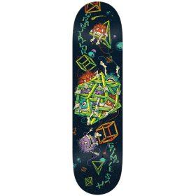 Anti Hero Taylor Grimplestix Skateboard Deck Black 8.38