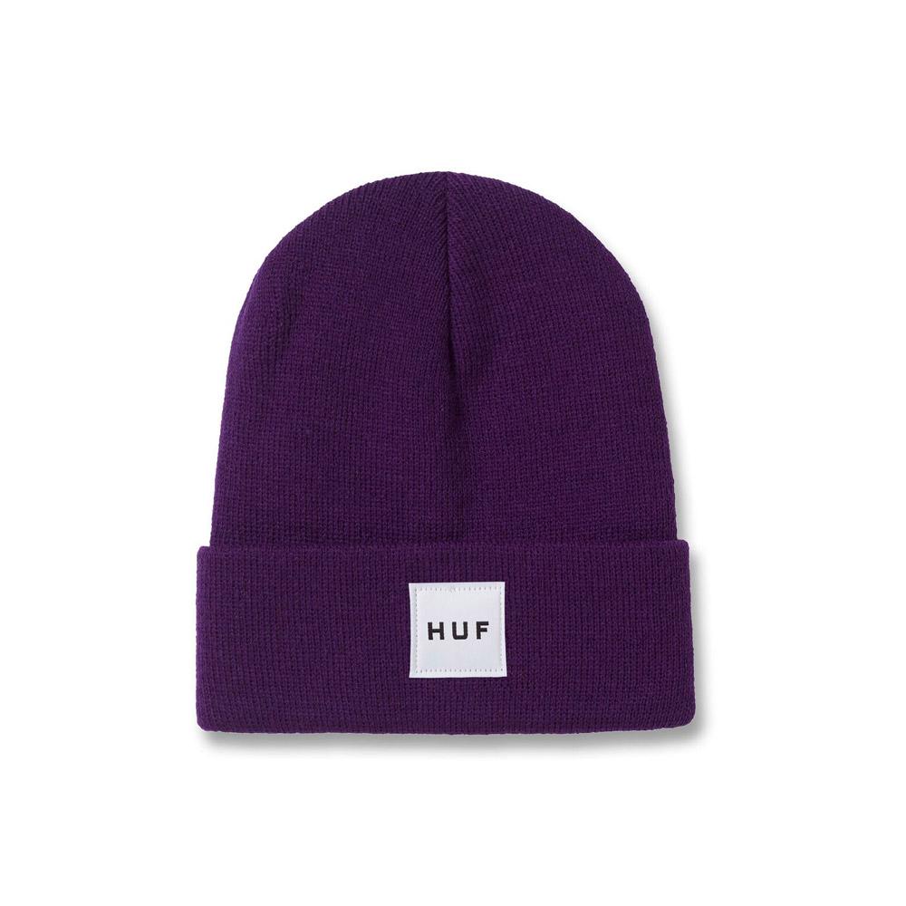 Huf Box Logo Beanie Purple