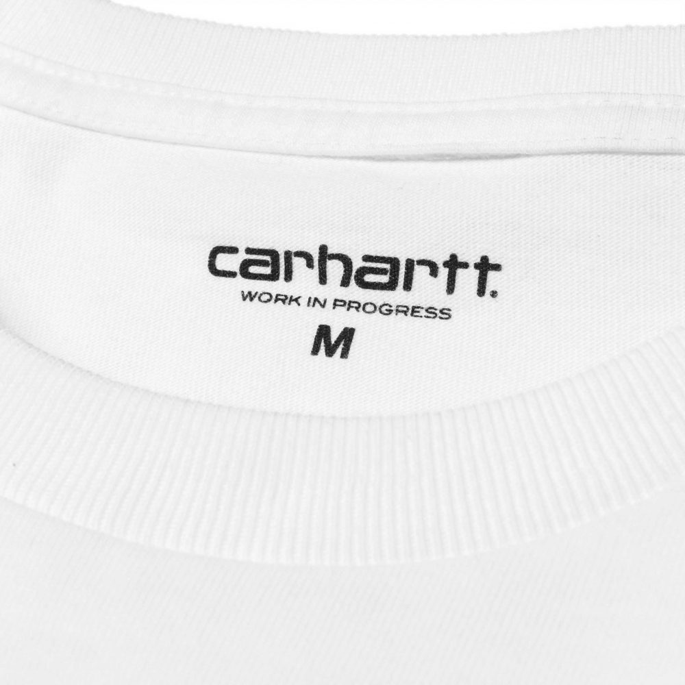 Now in stock theCarhartt WIP L/S Chase T-Shirt. The Carhartt WIP L/S Chase T-Shirt is constructed from combed cotton jersey. It is part of our Chase Program, which focuses on jersey-based staples, and features an embroidered Carhartt 'C' motif on the left chest. Loose fit. I026392_02_90 100% Cotton Combed Single Jersey, 235 g/m² loose fit logo embroidery on chest