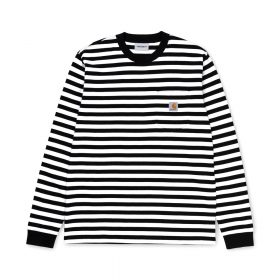 Now in stock the Carhartt WIP L/S Scotty Pocket T-Shirt. The Carhartt WIP L/S Scotty Pocket T-Shirt is constructed from yarn dyed cotton jersey. It features a single chest pocket, adorned with a woven Carhartt WIP label. Regular fit. I027733_1C_1A regular fit yarn dyed chest pocket square label Nu op voorraad de Carhartt WIP L/S Scotty Pocket T-Shirt. De Carhartt wip L-S Scotty Pocket T-Shirt is gemaakt van 100% katoen. Dit shirt heeft een normale pasvorm en is uitgerust met een borstzakje en afgemaakt met een Carhartt WIP Label. I027733_1C_1A regular fit yarn dyed chest pocket square label
