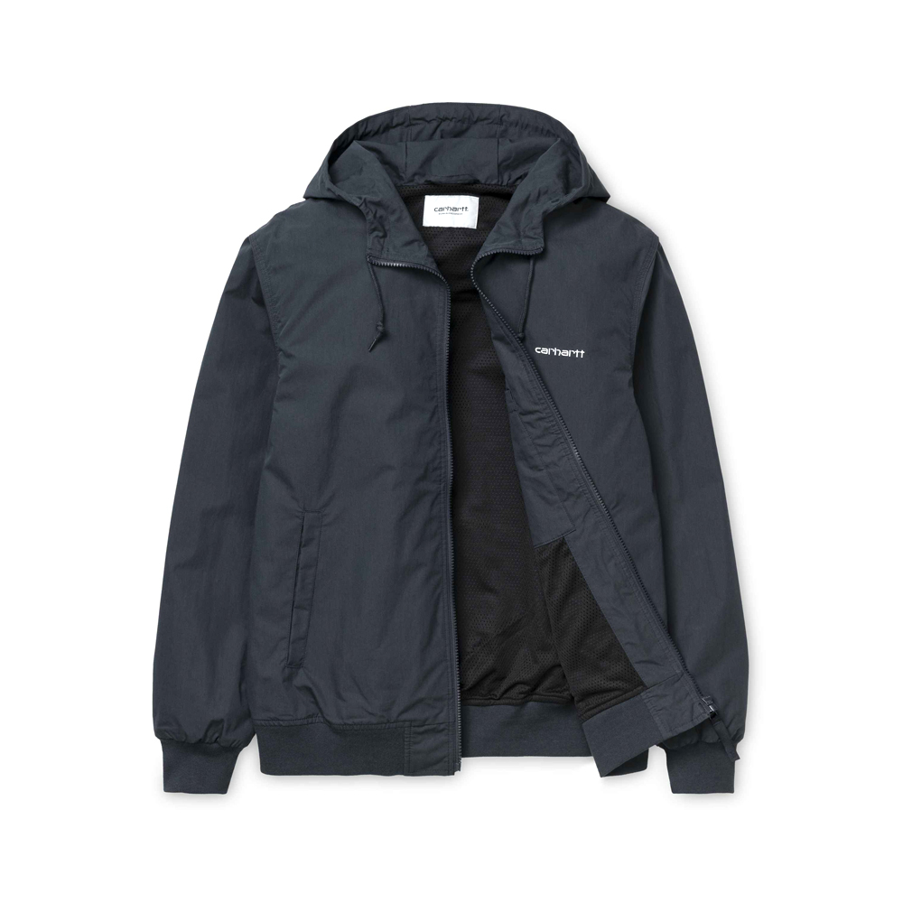 Now in stock theCarhartt WIP Marsh Jacket. Nice jacket by carhartt the Carhartt WIP Marsh Jacket. I027797_1C_00 mesh lined adjustable hood rib-knit cuffs and bottom band front closure with zip script embroidery