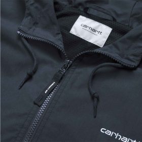 Now in stock the Carhartt WIP Marsh Jacket. Nice jacket by carhartt the Carhartt WIP Marsh Jacket. I027797_1C_00 mesh lined adjustable hood rib-knit cuffs and bottom band front closure with zip script embroidery