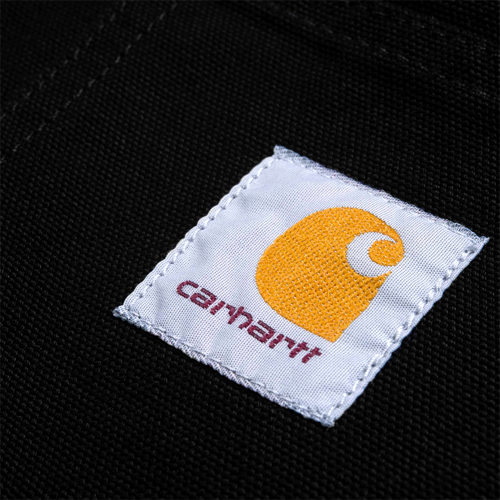 Michigan Coat The carhartt WIP Michigan Coat is a classic chore coat silhouette, constructed in our hard-wearing 'Dearborn Canvas'. This fabric is now created from organic cotton – but is just as robust as previous iterations. The canvas fabric will soften with wear, creating a jacket with a fit that is unique to you. Contrast button and rivet detailing draws from a classic workwear aesthetic. Standard sizing. I026480_89_02 100% Organic Cotton 'Dearborn' Canvas, 12 oz unlined corduroy top collar front closure with buttons square label