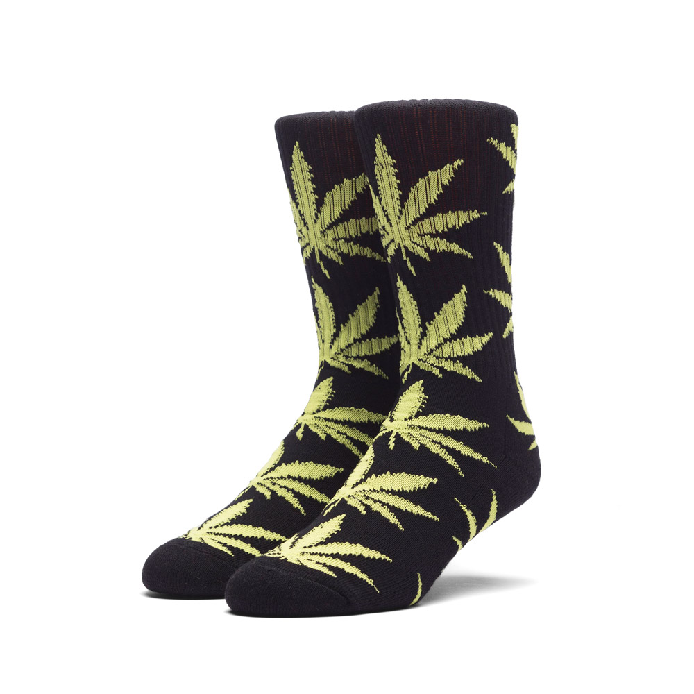 Huf Plantlife Socks Black Yellow