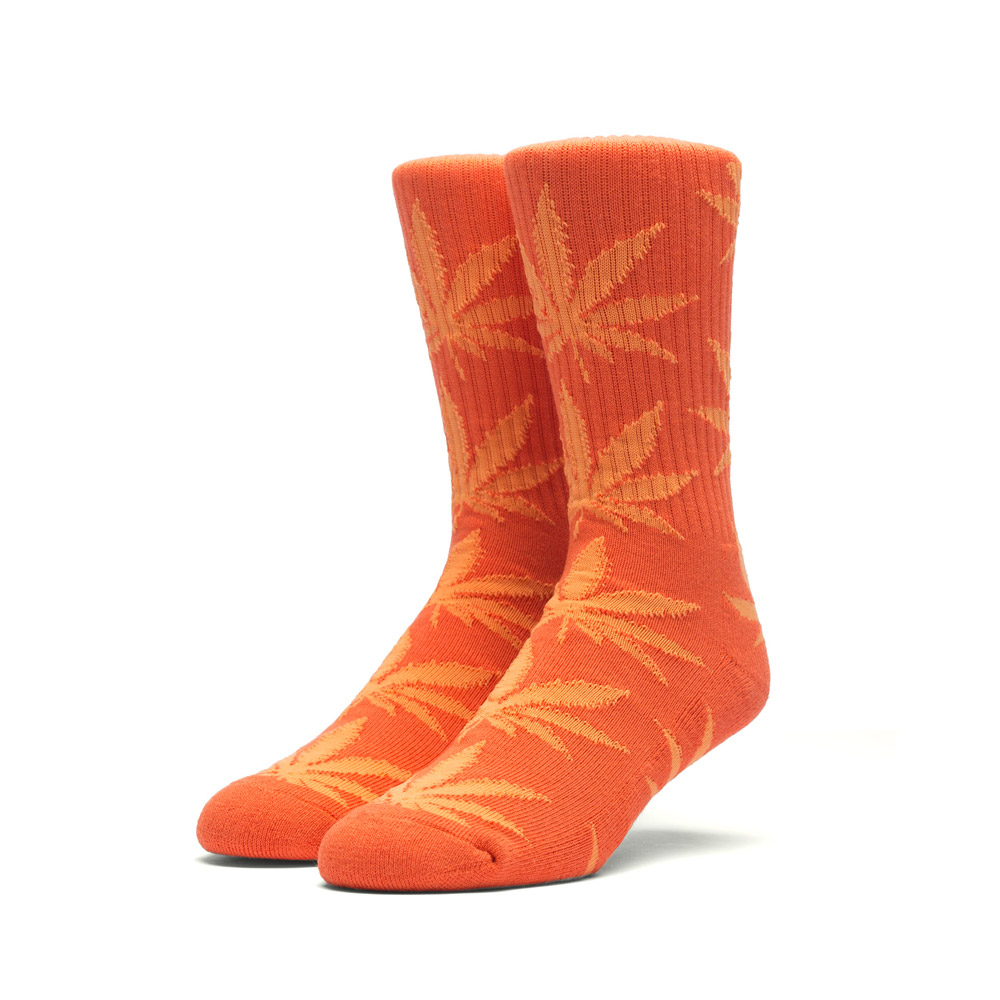 Huf Plantlife socks Orange Neon