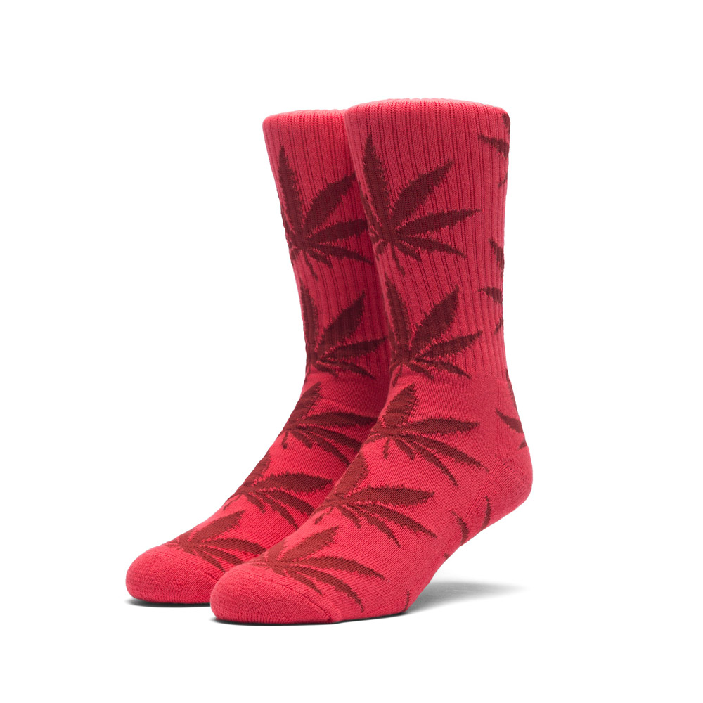 Huf Plantlife Socks Red Dark Red