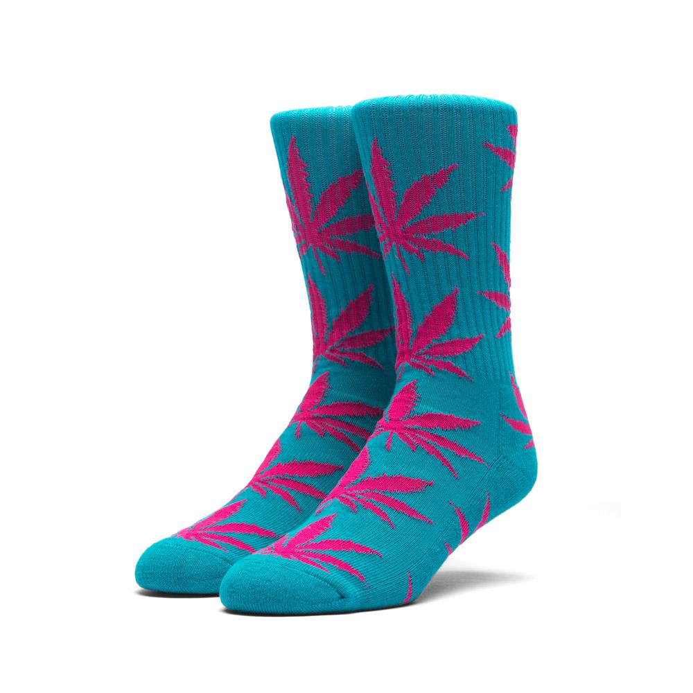 Huf Plantlife Socks Teal Magenta