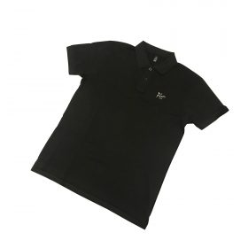 Fier Polo Embroidery Logo Black