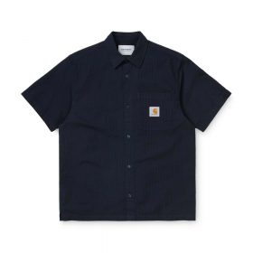 Now in stock the Carhartt WIP S/S Southfield Shirt. The Carhartt WIP S/S Southfield Shirt is constructed from 100% cotton. It features a single chest pocket, adorned with a woven Carhartt WIP label. Regular fitted blouse with a pre molded structure. This blouse is made with a breathable woven pattern. I027510_1C_00 regular fit garment washed chest pocket with button closure square label WIP script label Nu op voorraad de Carhartt WIP S/S Southfield Shirt. De Carhartt wip S-S Southfield Shirt is gemaakt van 100% katoen. Dit shirt heeft een normale pasvorm en is uitgerust met een borstzakje en afgemaakt met een Carhartt WIP Label. I027510_1C_00 Normale pasvorm voorgewassen stof borstzakje knoopsluiting Blok label WIP script label