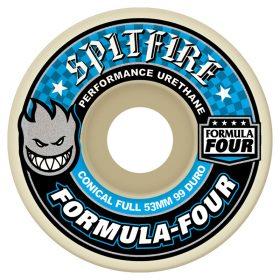 Spitfire Formula Four Conical Full Wheels 99D 53mm