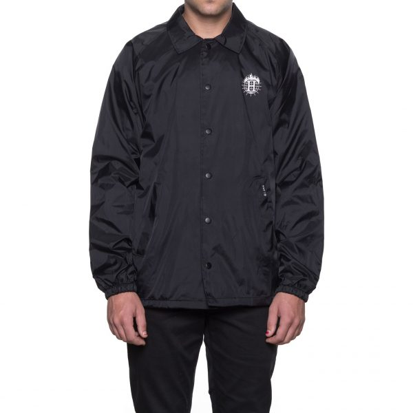 Huf x Thrasher TDS Coach's Jacket Black